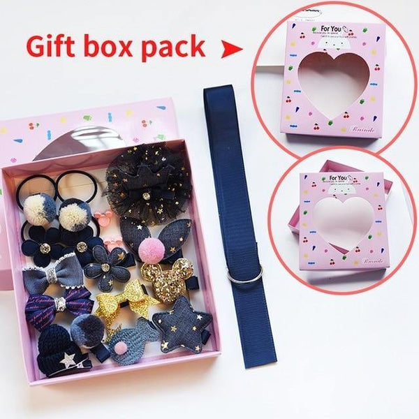 A Set of Multi-types Adroable Super Cute Hair Accessories for Girls - Yesy All Goods