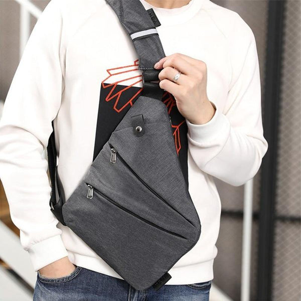 Classic, Convenient & Light Rainproof Crossbody Bag for Men - Yesy All Goods