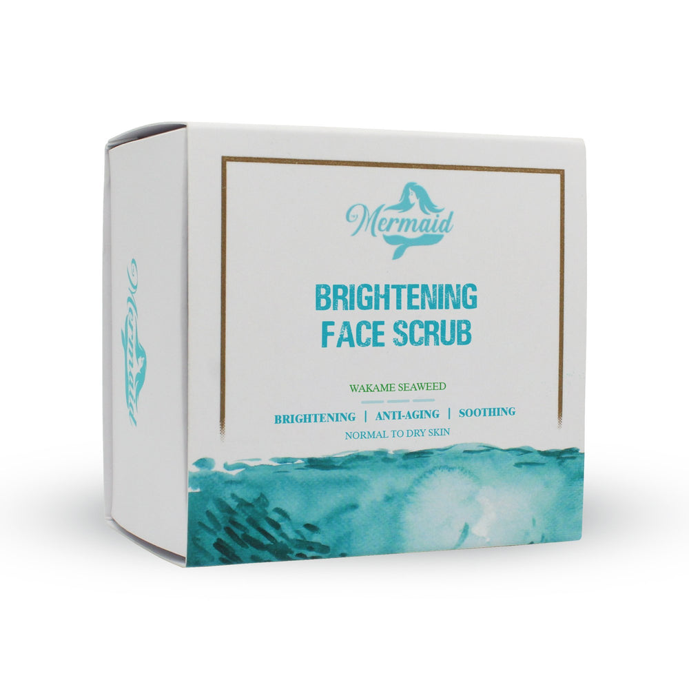 Brightening Face Scrub,50g - Mermaid for beauty