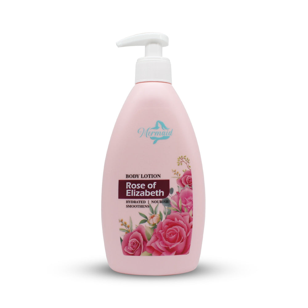 Mermaid Body Lotion, With Rose De Elizabeth 350ml - Mermaid for beauty