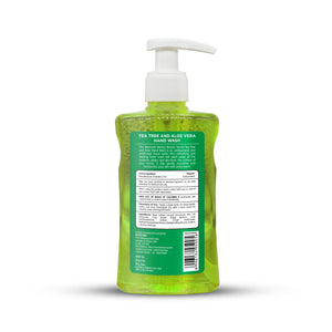 Tea Tree & Aloe Vera Hand Wash 236ml - Mermaid for beauty
