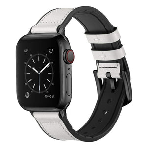 Silicone&Leather Band for AppleWatch