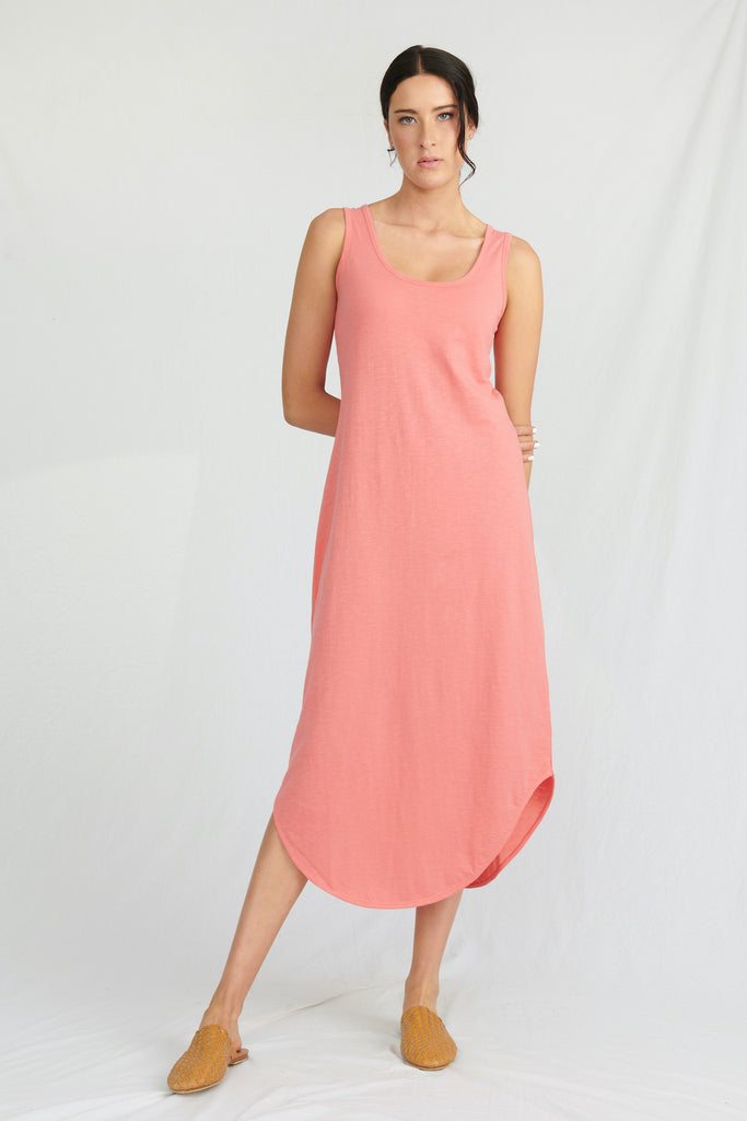 womens organic cotton maxi dress