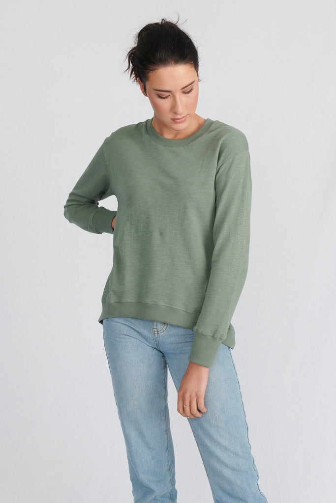womens organic long sleeve sweatshirts