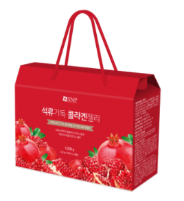 30 pomegranate collagen jelly bags