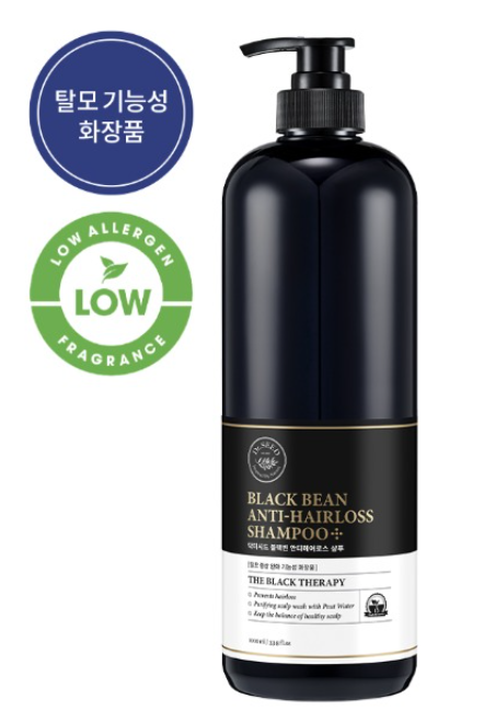 DR.SEED Black Bean Anti-Hairros Shampoo 1000ml