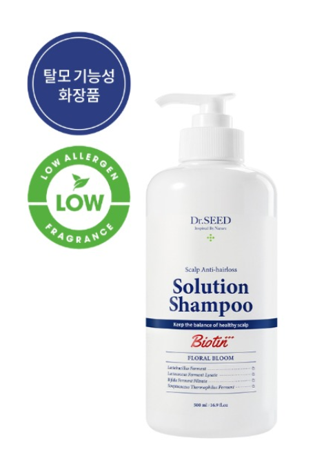 DR.SEED Scalp Anti-Hairros Solution Shampoo 500ml Floral Bloom