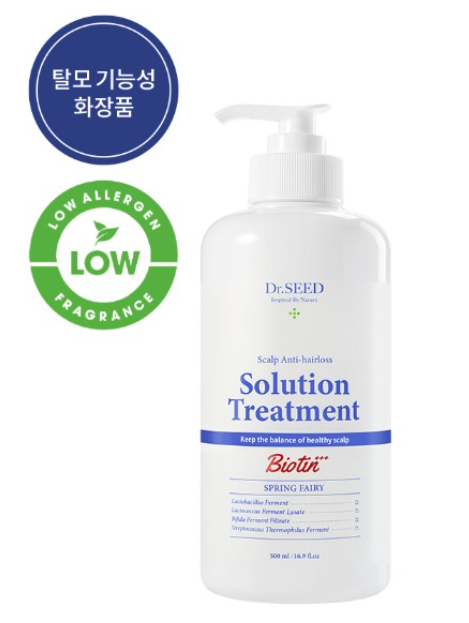 Dr. Seed Scalp Anti-Hairs Solution Treatment 500ml Spring Fairy