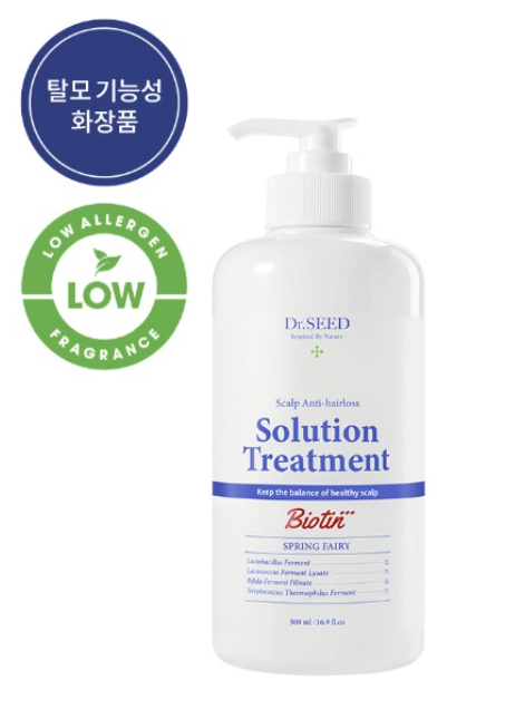 Dr. Seed Scalp Anti-Hairs Solution Treatment 500ml