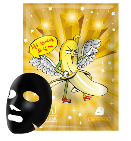 NOHJ Banana SSUL Mask pack [Honey]