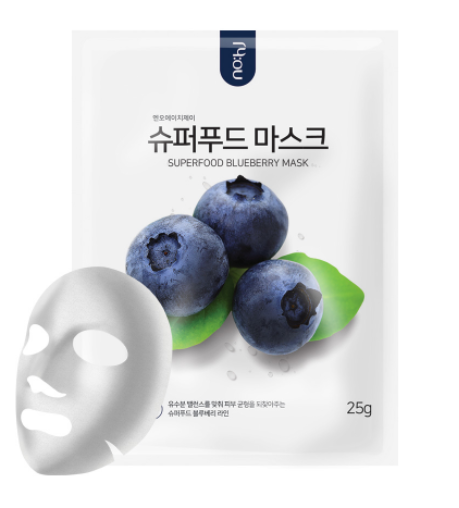 NOHJ Superfood Mask pack [Blueberry]