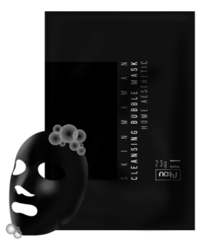 Skinmaman Pure Bubble Essence Mask Home Aesthetic
