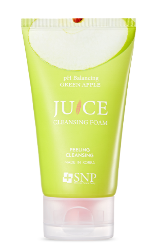 pH-balanced foot apple juice cleansing foam 100ml