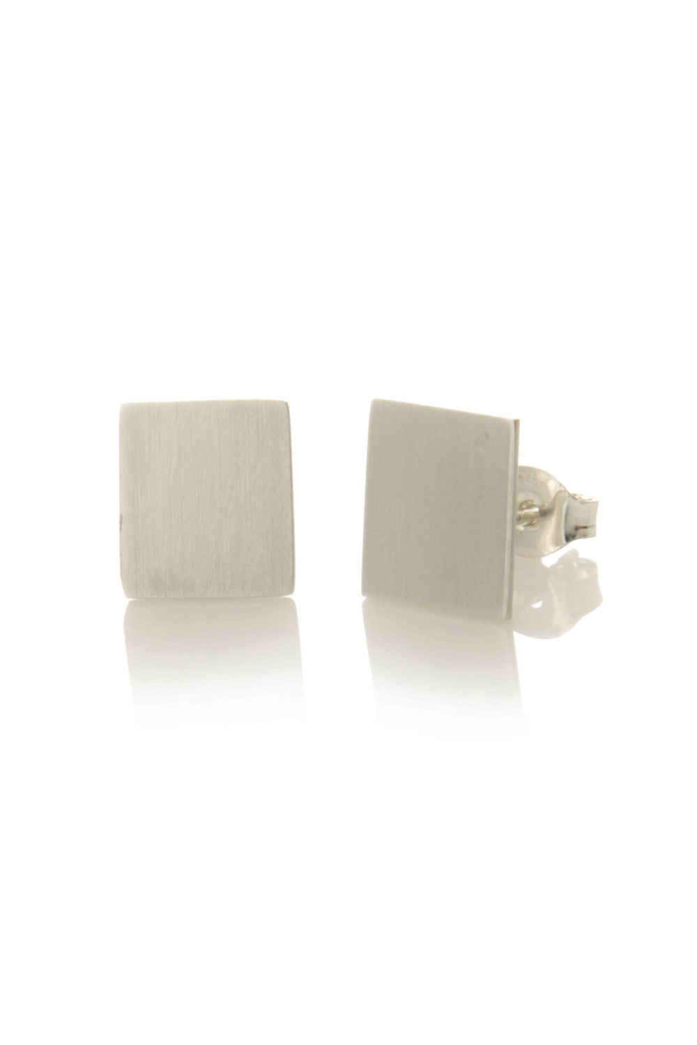 Rectangle Stud Earrings