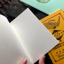 Load image into Gallery viewer, Letterpress A6 Notebook 星嘉坡電版 set of 4