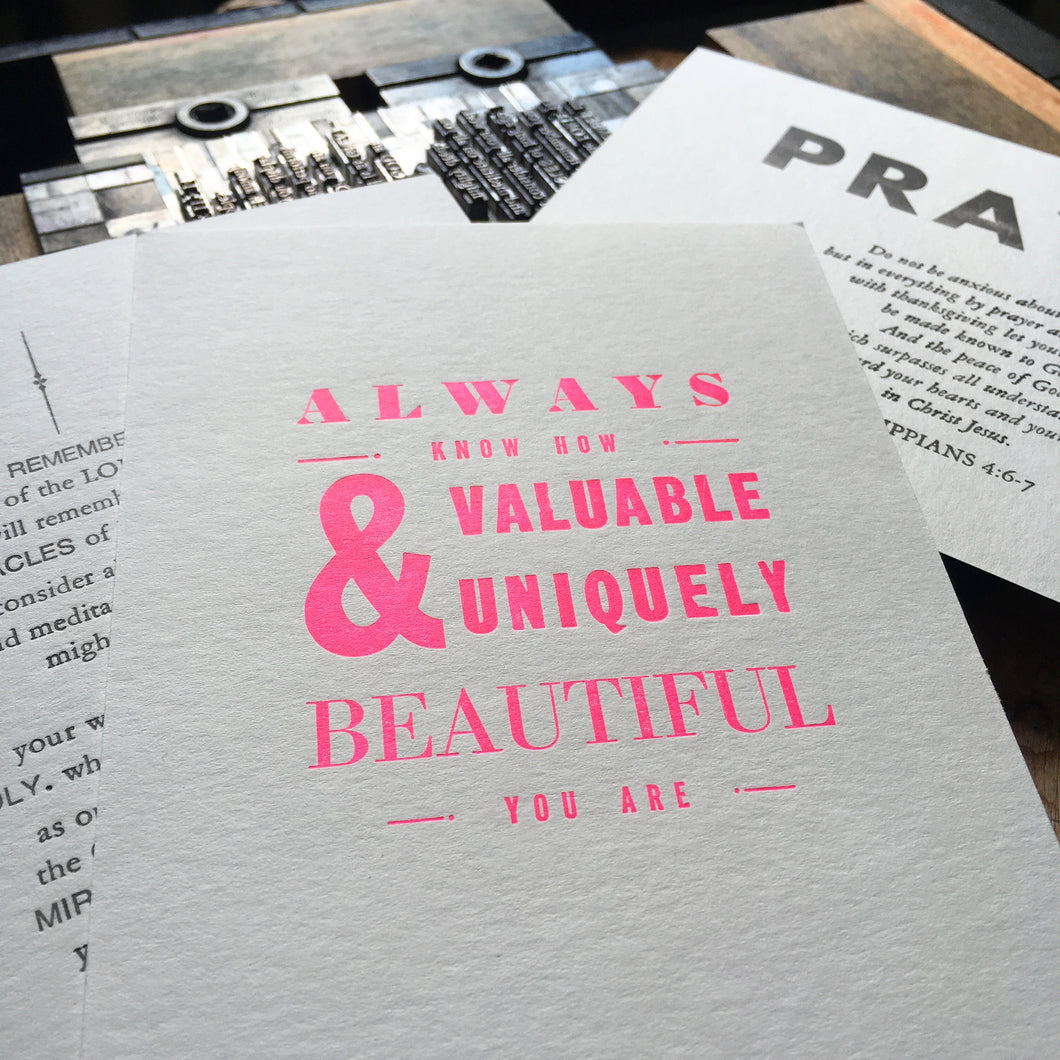 A Traditional Letterpress Typesetting Workshop