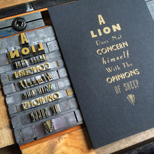 Load image into Gallery viewer, A Traditional Letterpress Typesetting Workshop