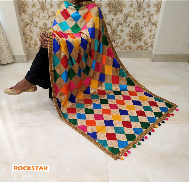 Why Phulkari is must for Indian marriage ?