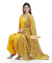 Load image into Gallery viewer, Yellow Kanchan Dupatta - Punnjab Phulkari