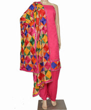 Load image into Gallery viewer, Rani Designer Suit - Punnjab Phulkari