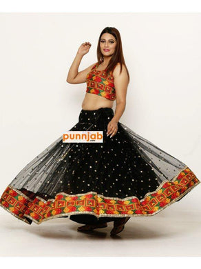 Ladies Sangeet Dress - Punnjab Phulkari