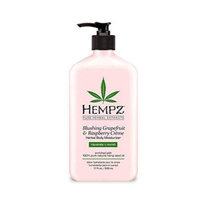 HEMPZ Blushing Grapefruit & Raspberry Creme Herbal Body Moisturizer