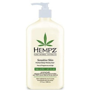 HEMPZ Herbal Body Moisturizer for Sensitive Skin
