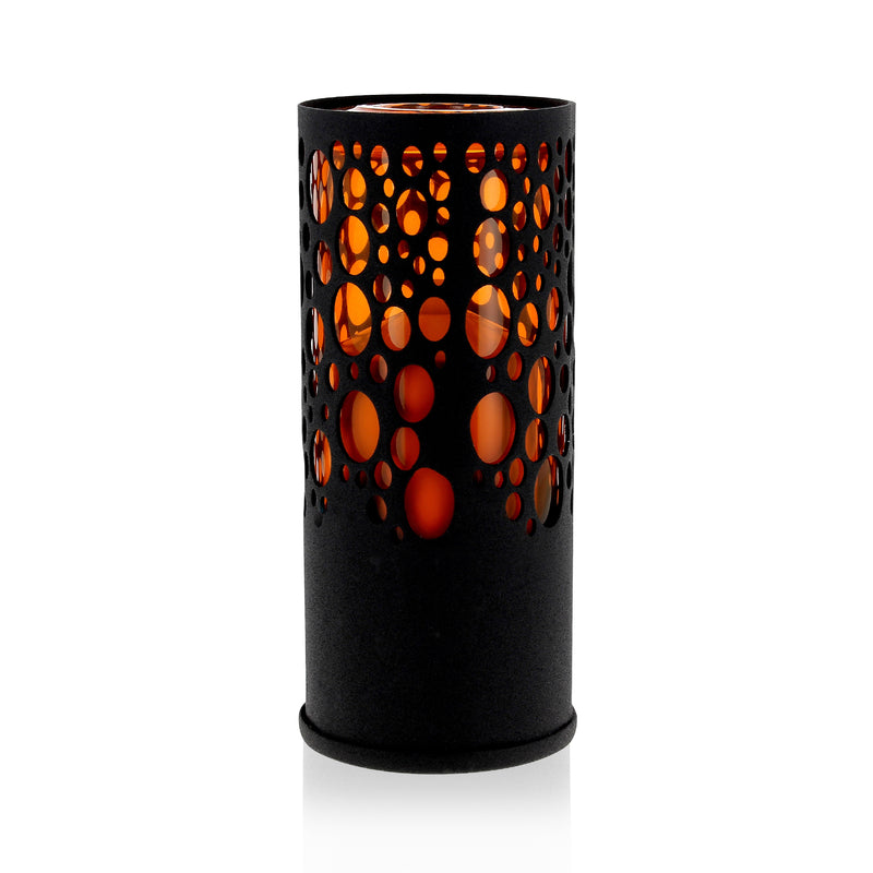 Photophore design Sub 40h noir / orange