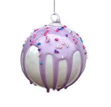 Load image into Gallery viewer, Frosted Glass Ornament