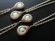 Load image into Gallery viewer, Friendship Necklaces / be my bridesmaid / stocking stuffer / opalescent pendants