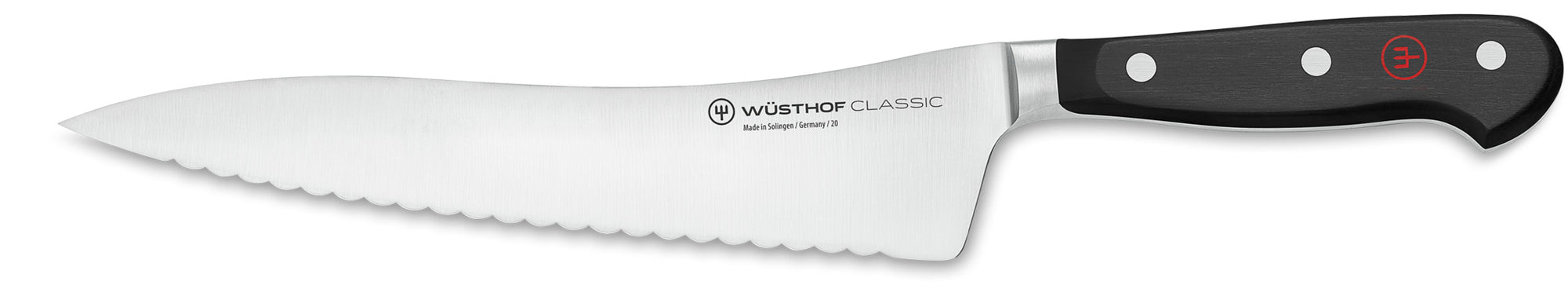Wusthof Canada Offset Serrated Bread Knife 4128