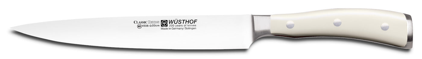 Wusthof Classic IKON 8-inch (20cm) Carving Knife, Creme - 4506-6/20