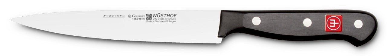 Wusthof Gourmet Flexible Fillet Knife, 6-inch (16cm) - 4552