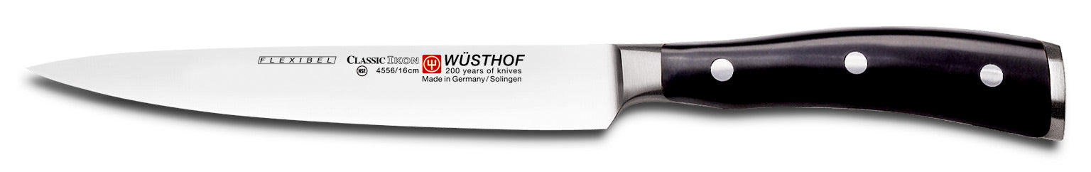 Wusthof Classic IKON 6.3-inch (16 cm) Flexible Fillet Knife - 4556
