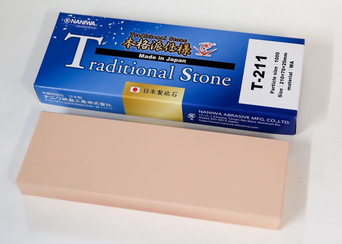 Naniwa Traditional Japanese Sharpening Stone, 1000 grit - T-211