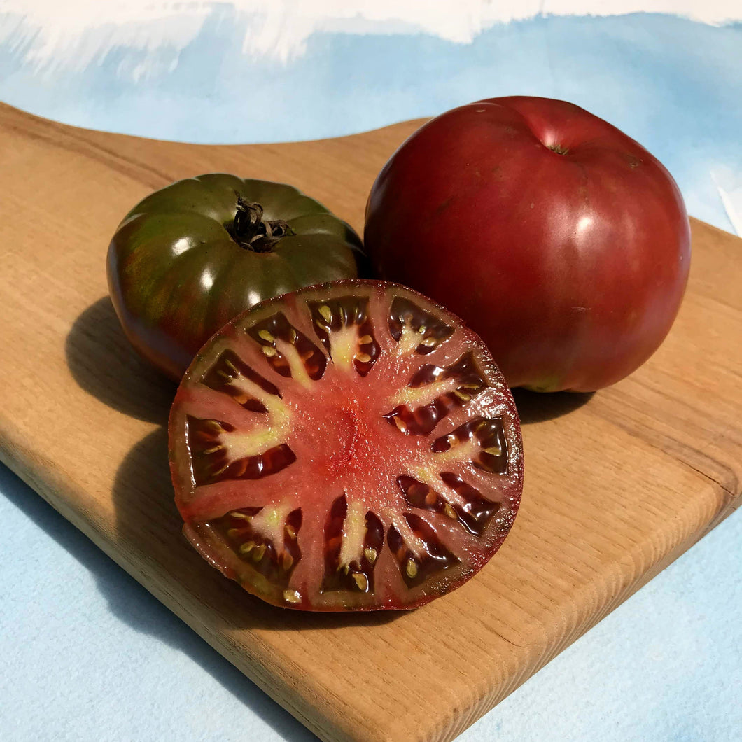 Tomatoes: Cherokee Purple