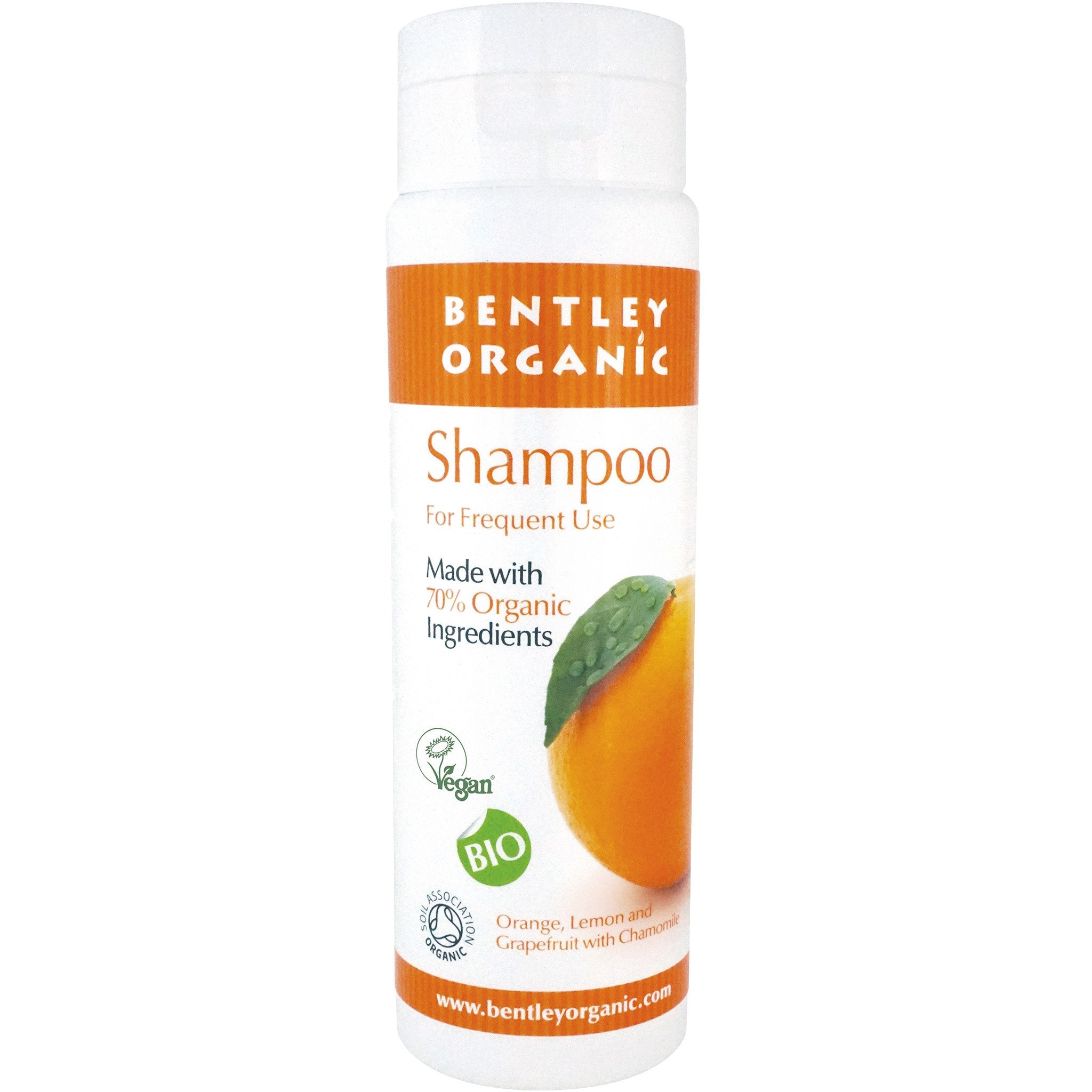 Shampoo with Orange, Grapefruit, Lemon - For Frequent Use
