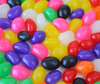 Colorful homemade jelly beans
