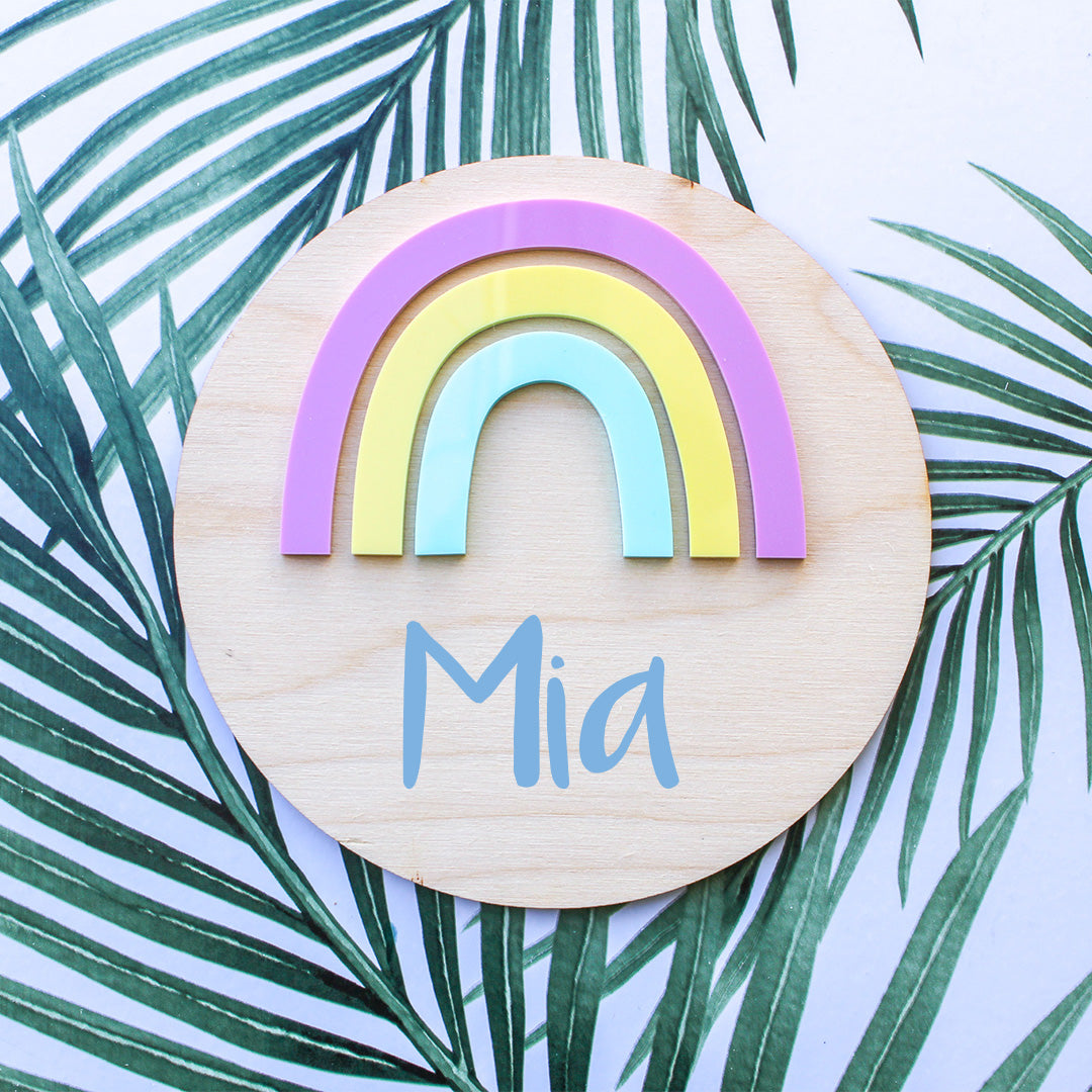 Personalised Rainbow Board