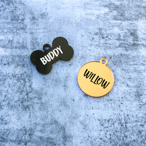 Personalised Cat & Dog Tags