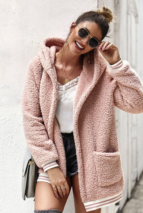 Cozy up with the Teddy Bear Jacket
