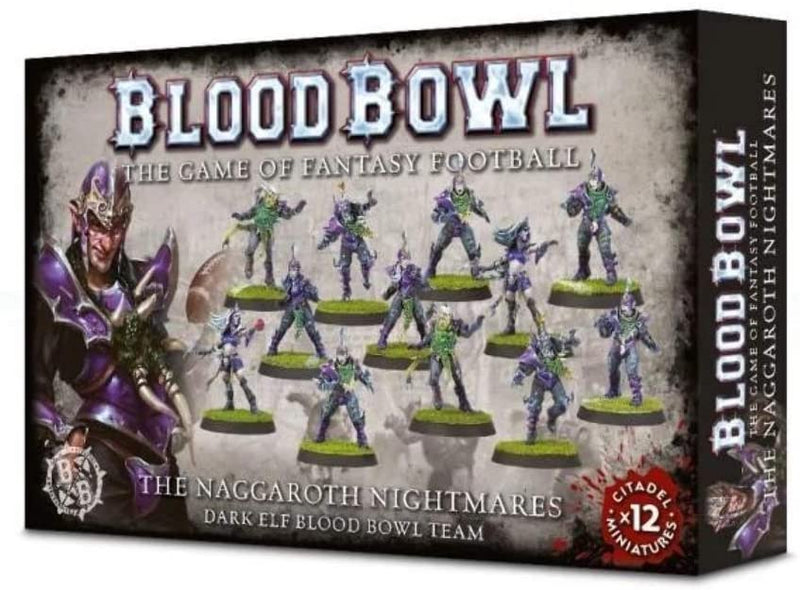 The Naggaroth Nightmares - Dark Elf Blood Bowl Team