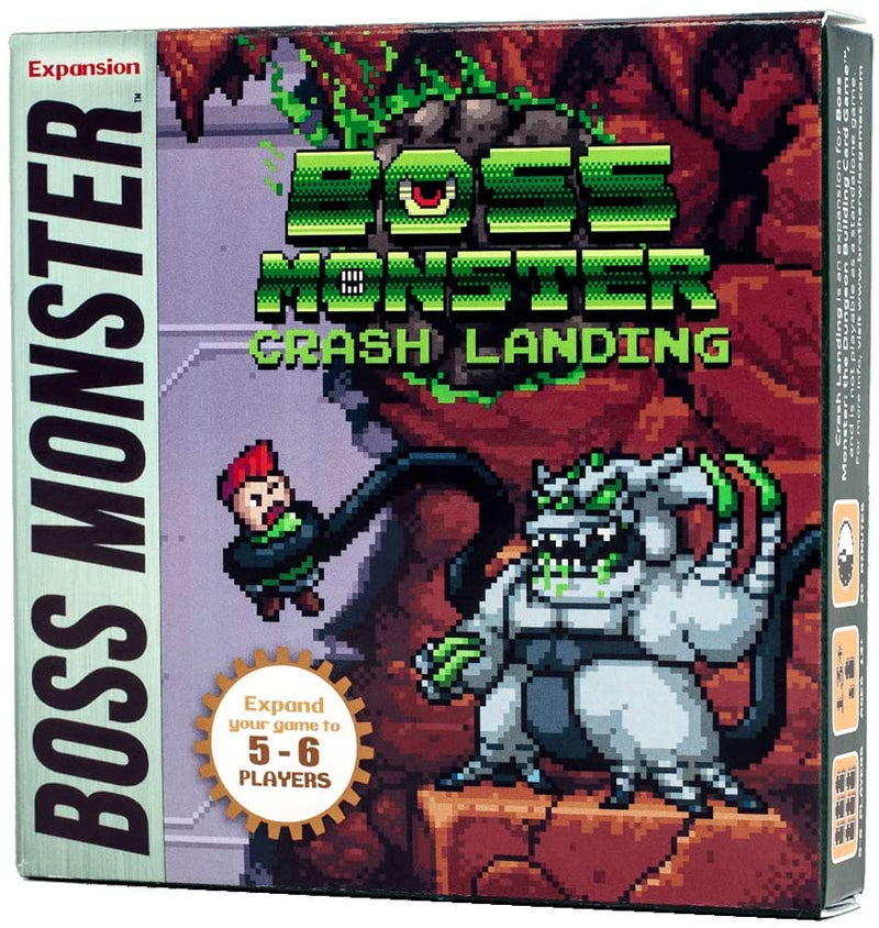 Boss Monster Crash Landing Board Game Expansion