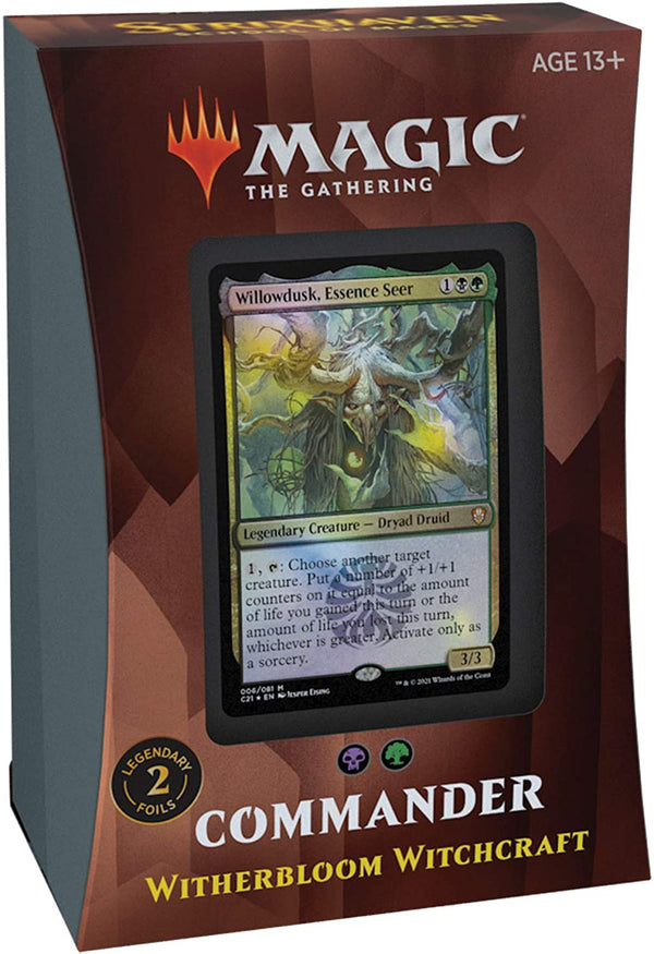 Strixhaven: School of Mages Commander Deck – Witherbloom Witchcraft (Black-Green)
