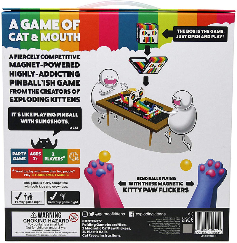 A Game of Cat and Mouth by Exploding Kittens