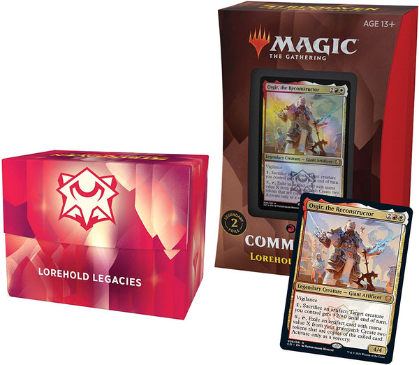 Strixhaven: School of Mages Commander Deck – Lorehold Legacies (Red-White)