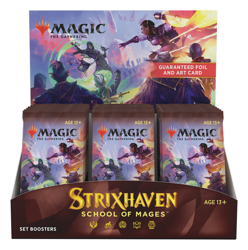 Strixhaven: School of Mages - Set Booster Display