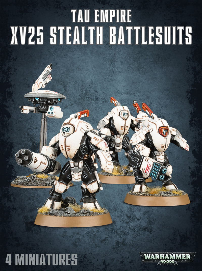TAU XV25 STEALTH SUIT BATTLESUITS