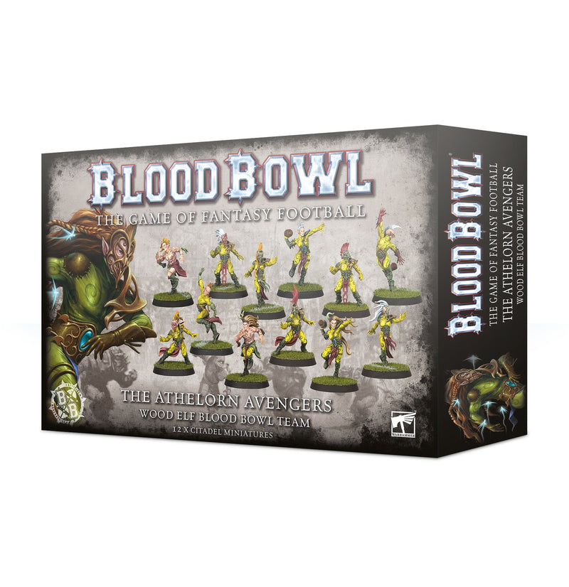 The Athelorn Avengers- Wood Elf Blood Bowl Team