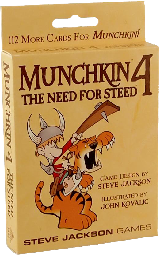 Munchkin The Need For Steed